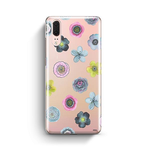 Watercolor Succulent Huawei P20 Case Clear
