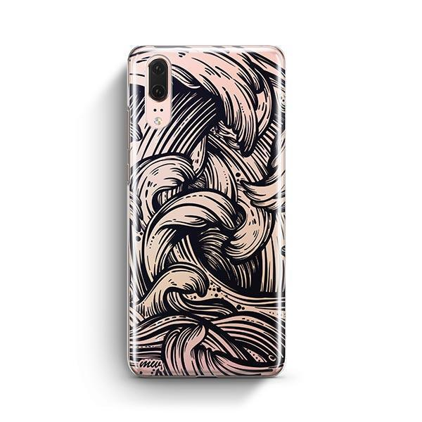 New Wave Huawei P20 Case Clear