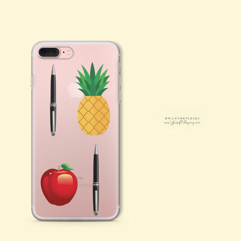 'PPAP' - Clear TPU Case Cover