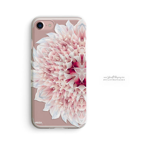 'Kaleidoscope' - Clear TPU Case Cover