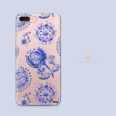 Anthro' - Clear Case Cover - Milkyway Cases -  iPhone - Samsung - Clear Cut Silicone Phone Case Cover