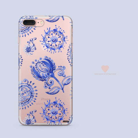 'Anthro' - Clear TPU Case Cover