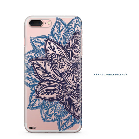 'Alchemy Mandala' - Clear TPU Case Cover