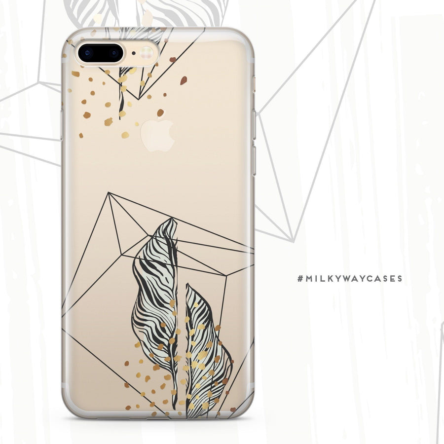 Bad And Boujee  - Clear Case Cover - Milkyway Cases -  iPhone - Samsung - Clear Cut Silicone Phone Case Cover