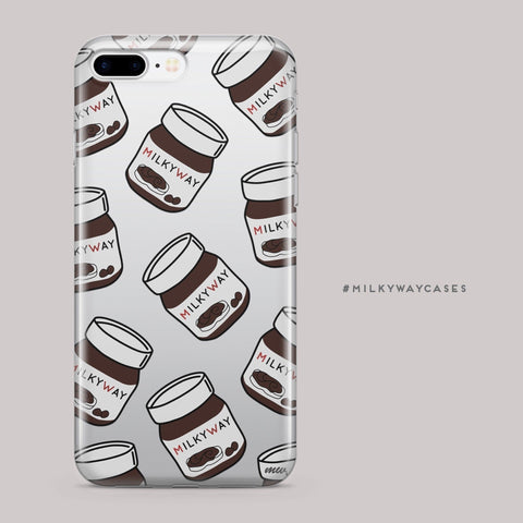 'Milkyway Spread' (@okitssteph x @milkywaycases) - Clear TPU Case Cover