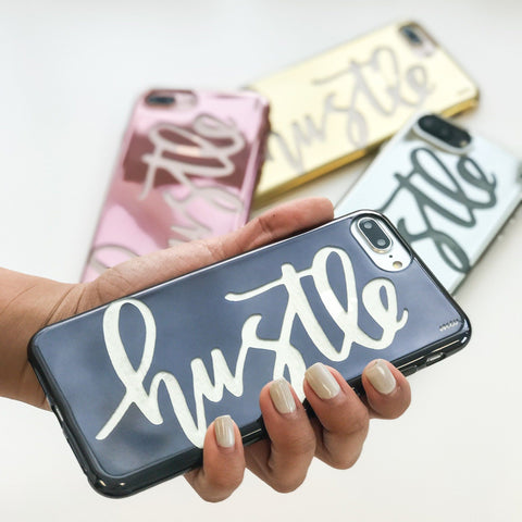 Chrome TPU Case - Hustle