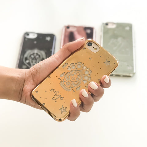 Chrome TPU Case - Virgo