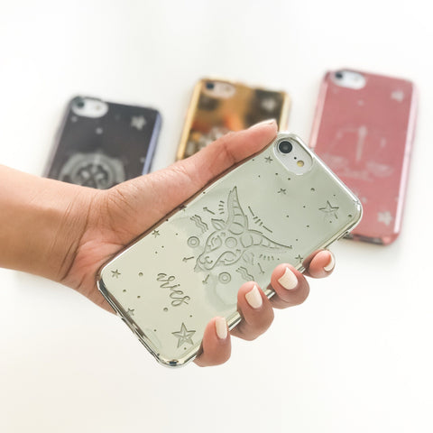 Chrome TPU Case - Aries