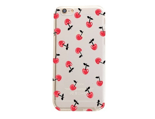 Cherry Overload - Clear TPU Case Cover