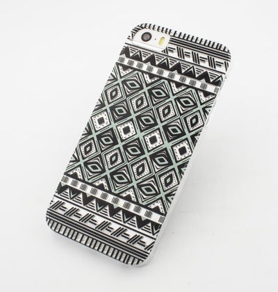 Ikat Eyes - Clear TPU Case Cover - Milkyway Cases -  iPhone - Samsung - Clear Cut Silicone Phone Case Cover