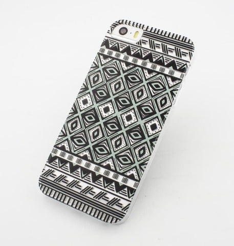 Ikat Eyes - Clear TPU Case Cover