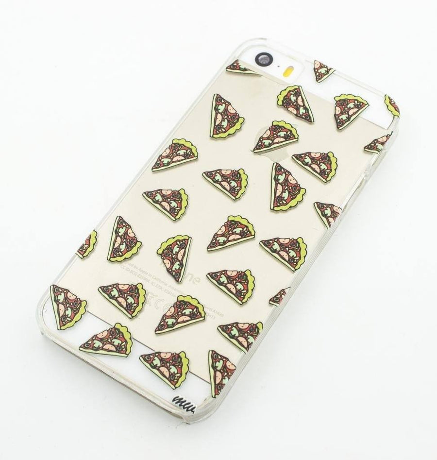 Pizza Overload - Clear TPU Case Cover