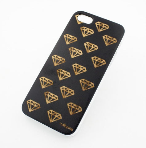 Black Bamboo Wood Case - Diamonds are Forever