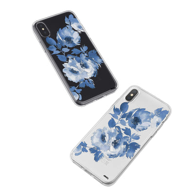 Blue Crush iPhone X Case Clear