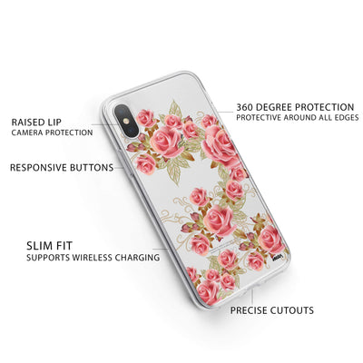 Caladrina iPhone X Case Clear