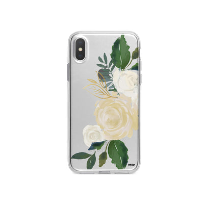 Caroline iPhone X Case Clear