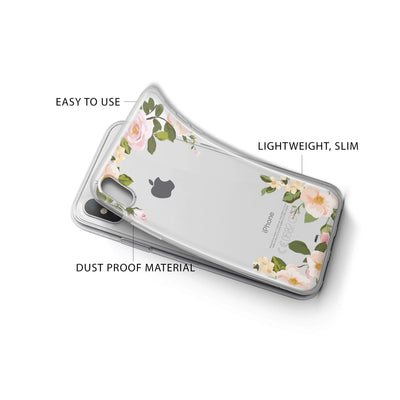 Delight iPhone X Case Clear
