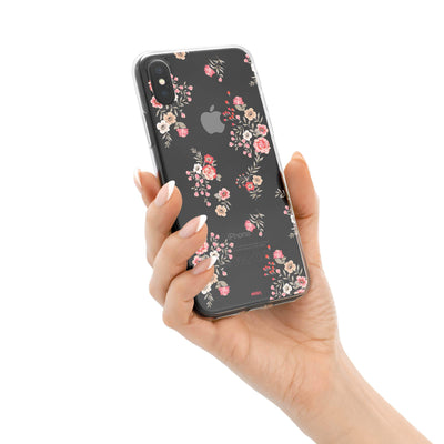 Ditsy iPhone X Case Clear
