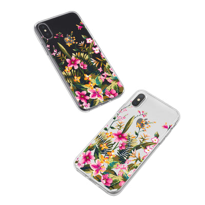 Growing Garden iPhone X Case Clear