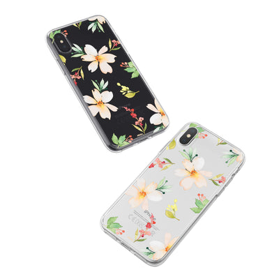 Meadow iPhone X Case Clear Milkyway iPhone Samsung Clear Cute Silicone 8 Plus 7 X Cover