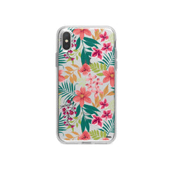 Summer Blossom iPhone X Case Clear