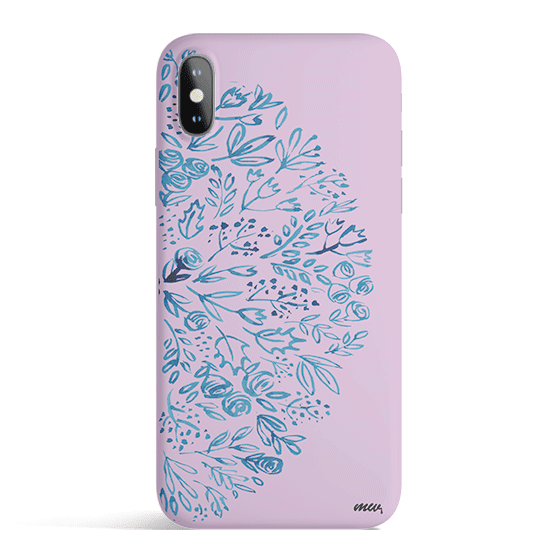 Indigo Henna - Colored Candy Matte TPU iPhone Case Cover Milkyway iPhone Samsung Clear Cute Silicone 8 Plus 7 X Cover