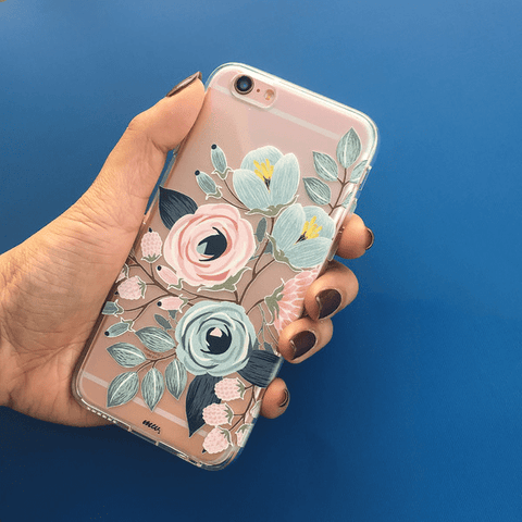 Indigo - Clear TPU Case Cover