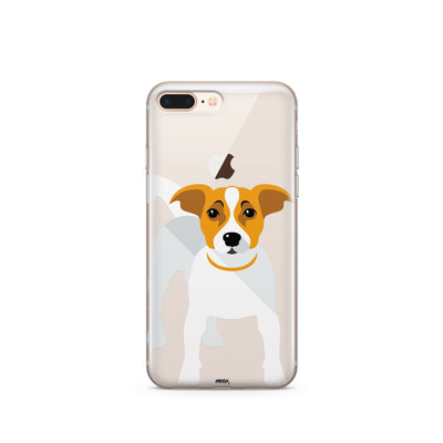 Jack Russell Terrier - Clear TPU Case Cover - Milkyway Cases -  iPhone - Samsung - Clear Cut Silicone Phone Case Cover