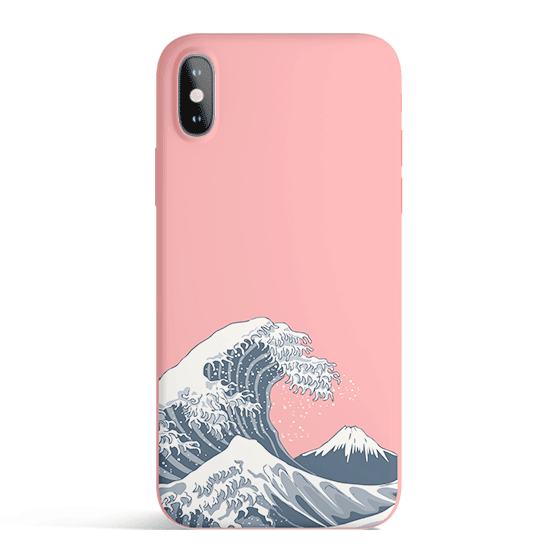 Japan Waves - Matte TPU - iPhone Case