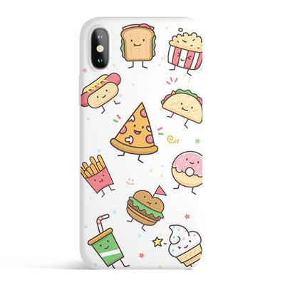 Kawaii Junk Food - Colored Candy Cases Matte TPU iPhone Cover