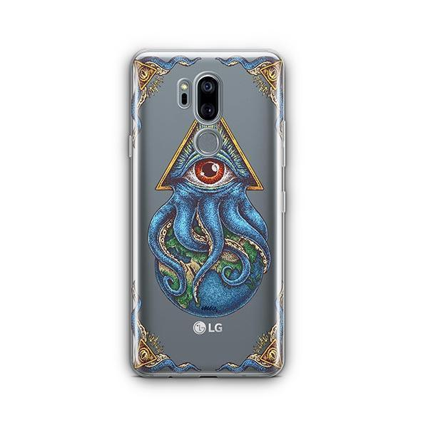 Against The World LG G7 Thinq Case Clear