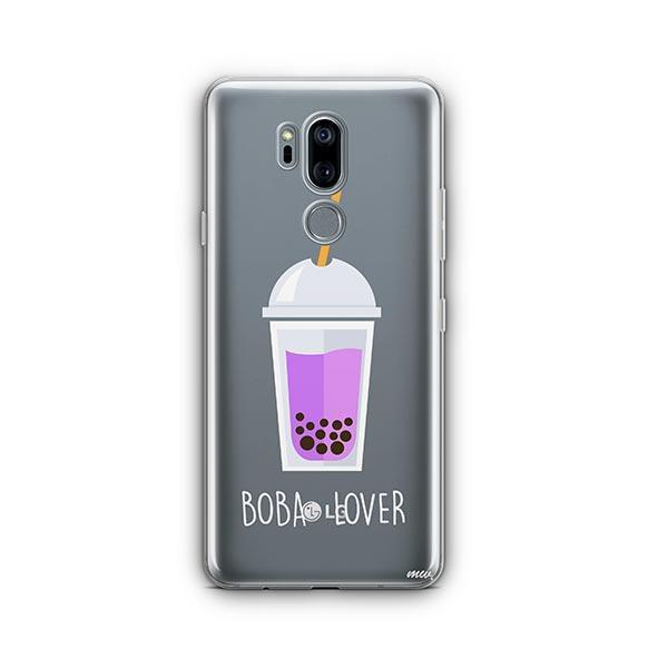 Boba Lover LG G7 Thinq Case Clear