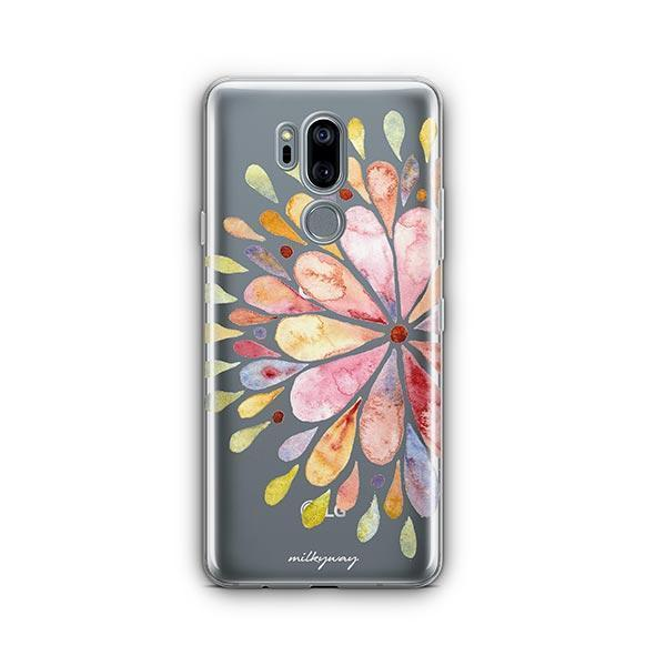 Blissful Mandala LG G7 Thinq Case Clear