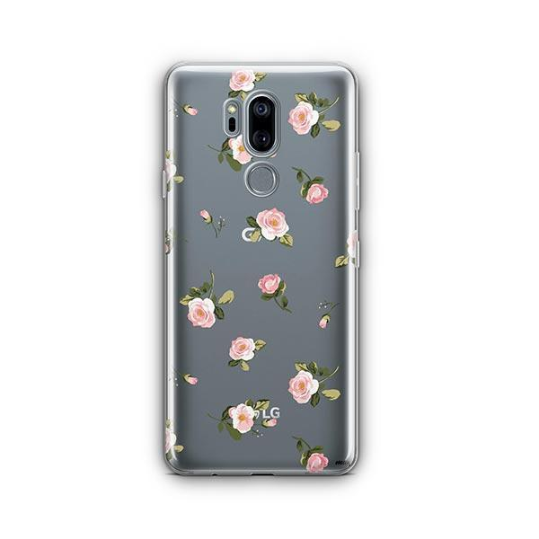 Blush LG G7 Thinq Case Clear