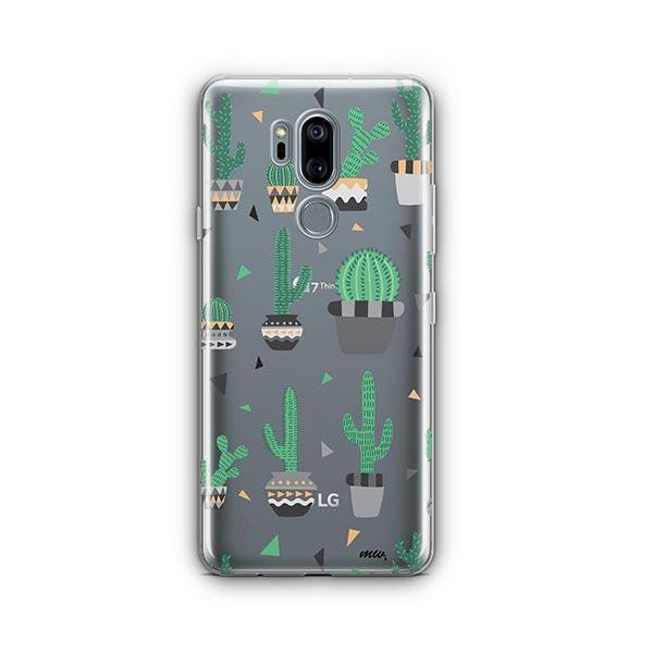 Cactus Party LG G7 Thinq Case Clear