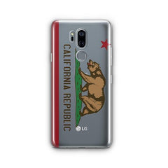 California Republic LG G7 Thinq Case Clear