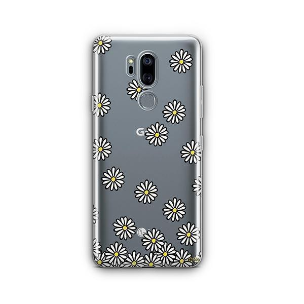 Falling Daisies LG G7 Thinq Case Clear