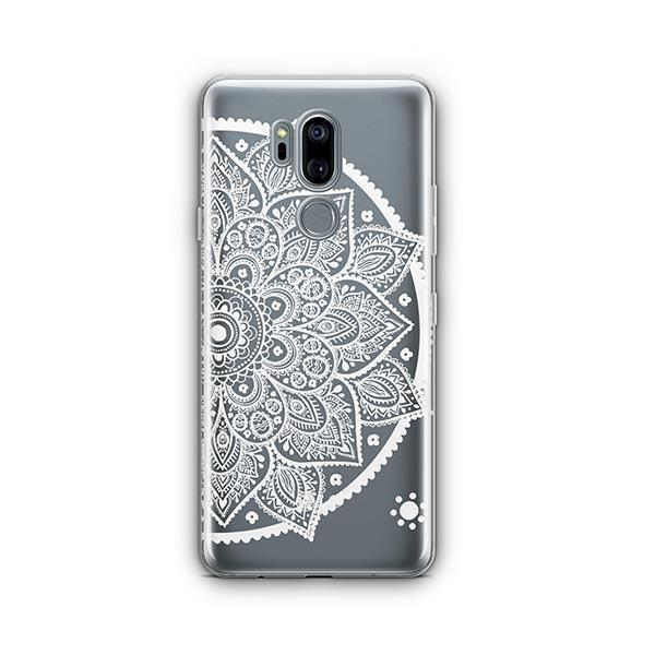 Henna Lotus Mandala LG G7 Thinq Case Clear