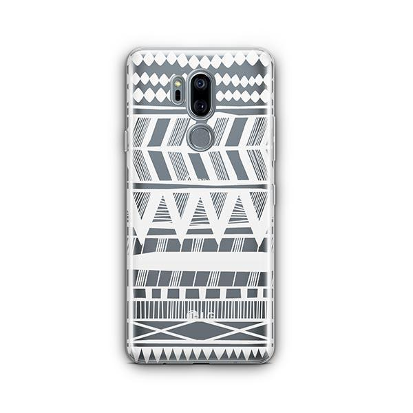 Itzli Henna LG G7 Thinq Case Clear