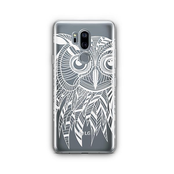 Henna Ethnic Owl LG G7 Thinq Case Clear