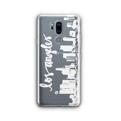 LA Skyline LG G7 Thinq Case Clear
