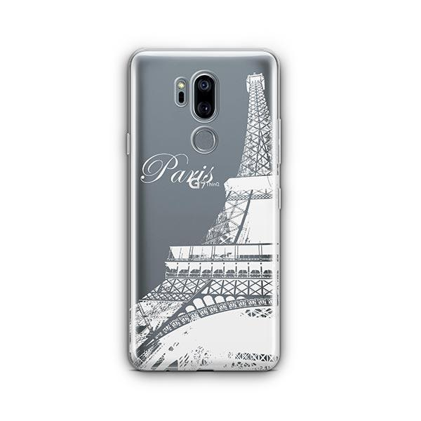 Paris LG G7 Thinq Case Clear