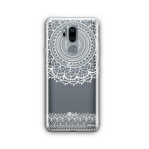 Mandala Sun Lace LG G7 Thinq Case Clear