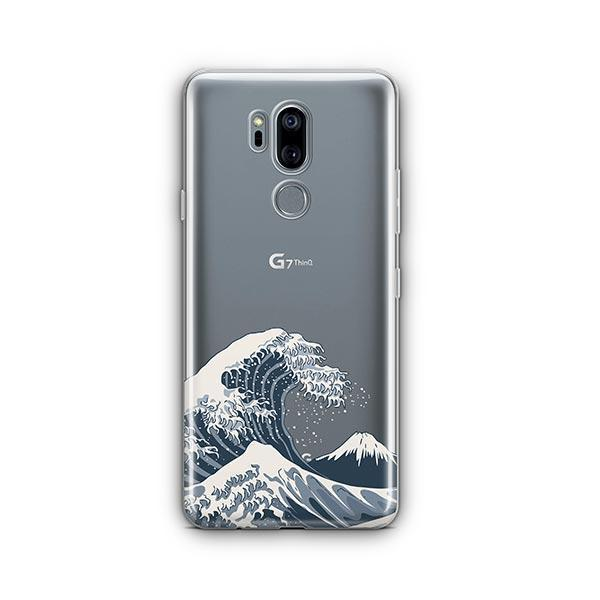 Japanese Wave LG G7 Thinq Case Clear