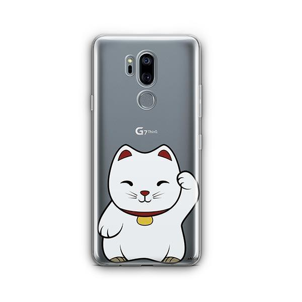 Lucky Cat - LG G7 Thinq Clear Case