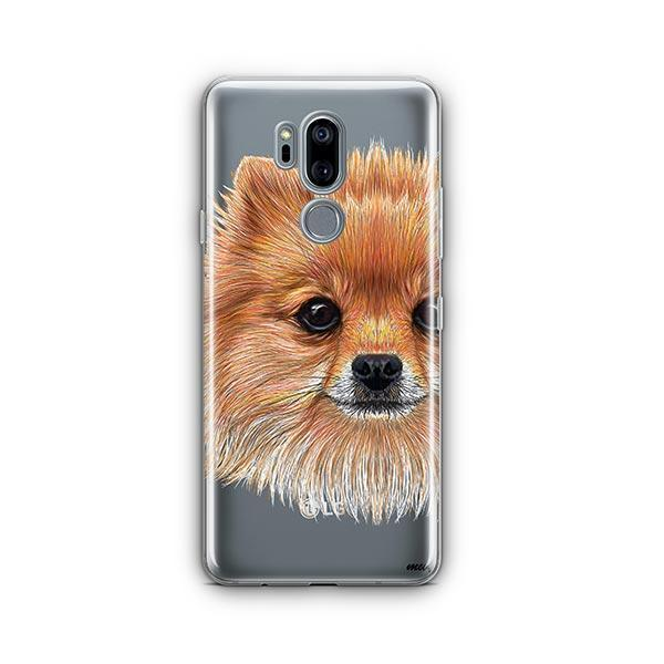 Pomsky Puppy - LG G7 Thinq Clear Case