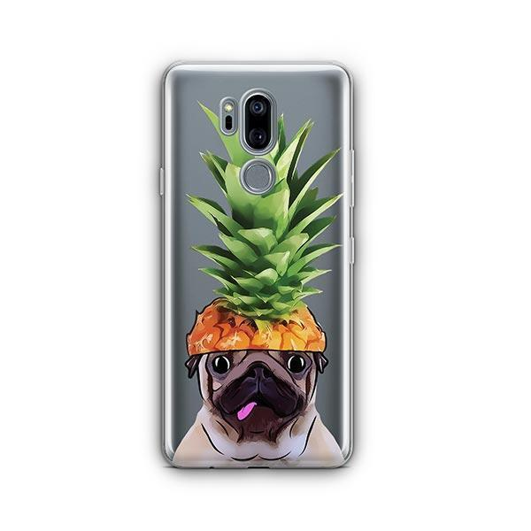 Pineapple Pug - LG G7 Thinq Clear Case