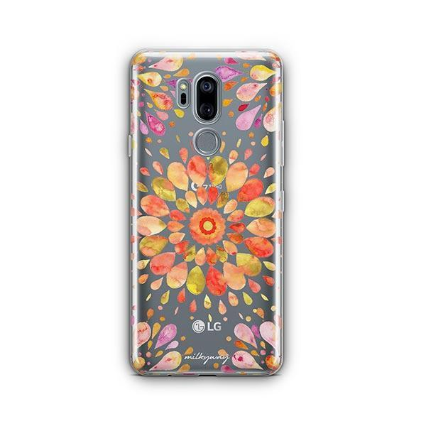 Summer Mandala LG G7 Thinq Case Clear