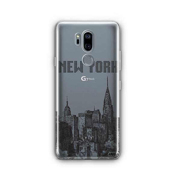 The Big Apple LG G7 Thinq Case Clear