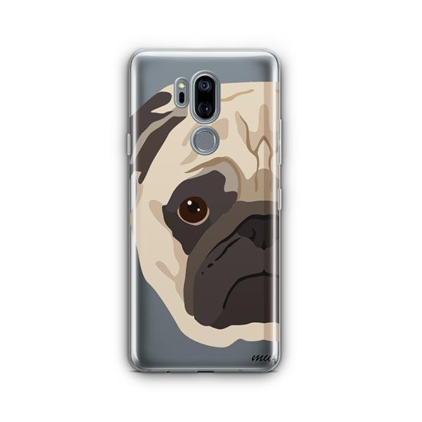 The Pug Case - LG G7 Thinq Clear Case
